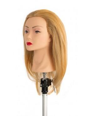 Główka Fryzjerska Treningowa - jasny blond