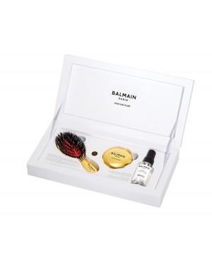 Złota Szczotka Balmain - zestaw torebkowy