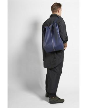 Duża torba na sprzęt fryzjerski - skórzana, hand made